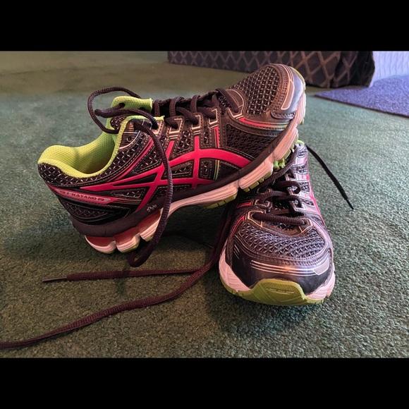 Asics Girls Gel Kayano 19 Running Shoes